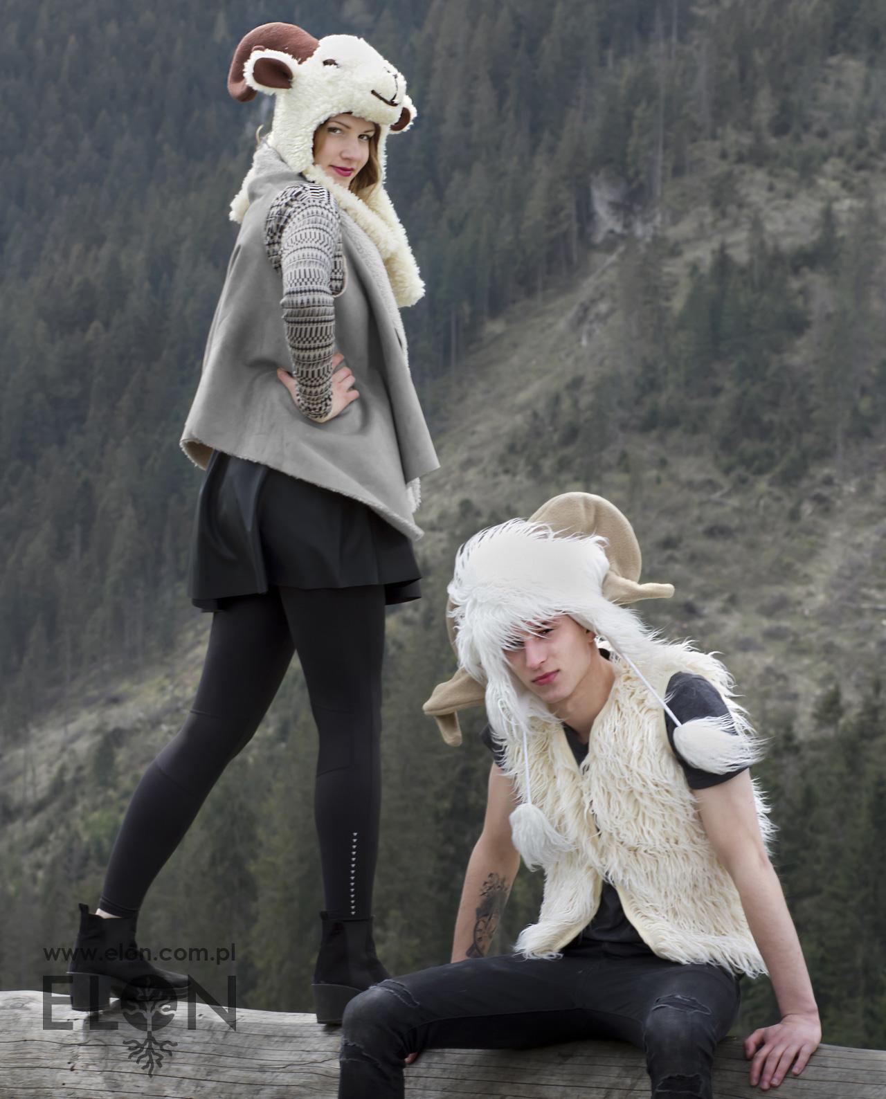 Czapka baran - wełniana i czapka kozioł
