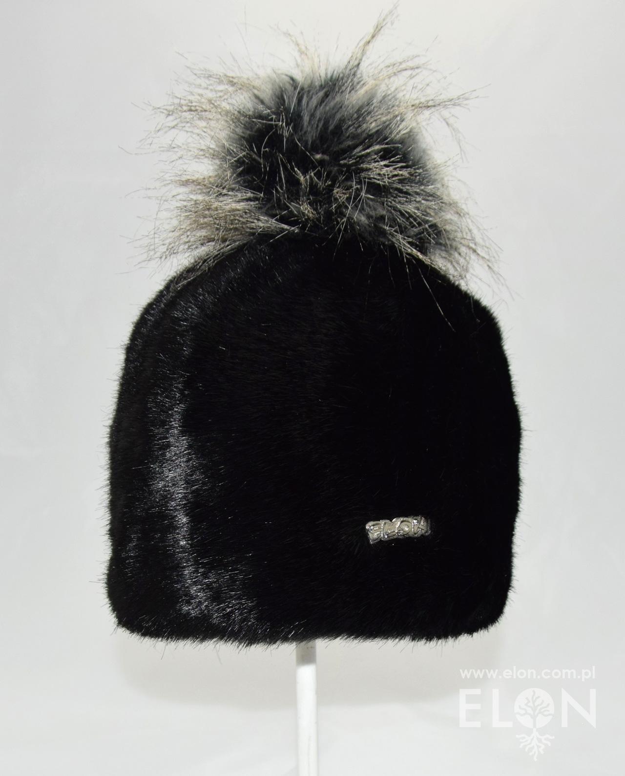 Czapka mongo - krótkie - czarna